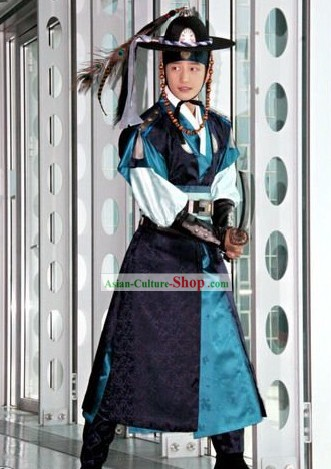 Ancient Korean Official Costume Set