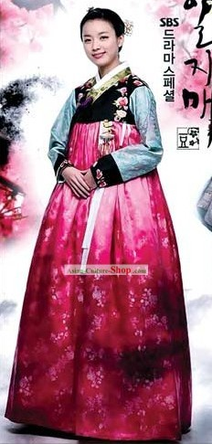 Ancient Korean Women Hanbok Set