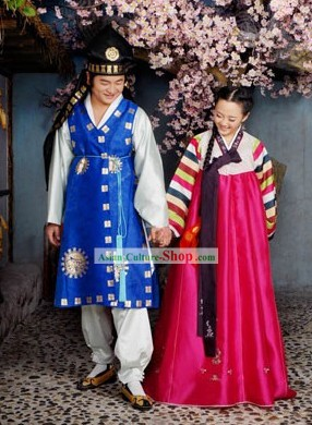 Ancient Korean Hanbok for Men and Women