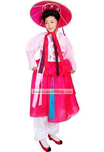 Traditional Korean Dance Costumes Set