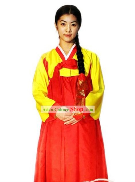 Traditional Korean Dance Costumes