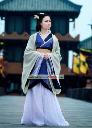 Chinese Ancient Beauty Costume Complete Set