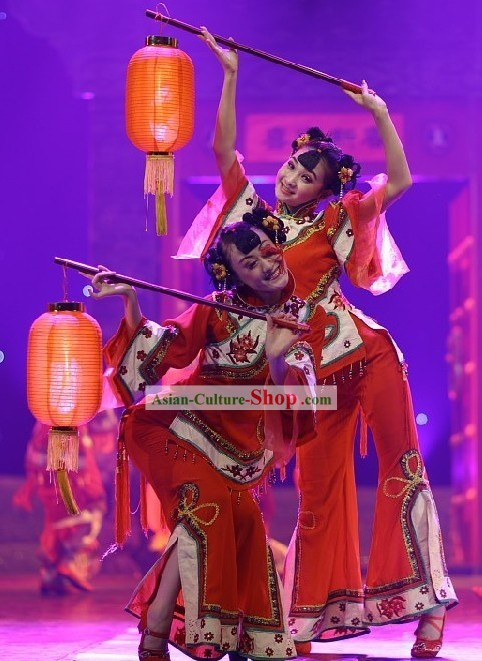 Chinese New Year Lantern Dance Costume Complete Set