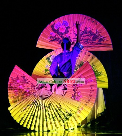 Large Chinese Stage Performance Fan