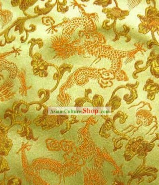 Classical Dragon Silk Fabric