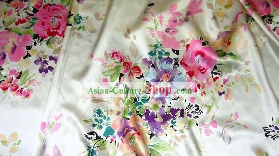 Traditional Chinese Silk Cheongsam Fabric