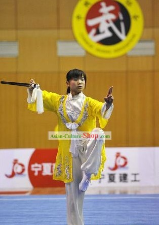 Chinese Kung Fu Tai Chi Dress and Cape Complete Set