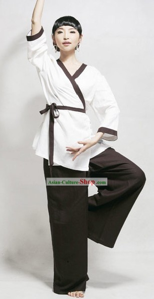 Chinese Cotton Tai Chi Kung Fu Clothing for Women