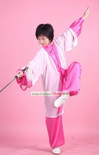 Chinese Kung Fu Suit and Cape Complete Set for Women