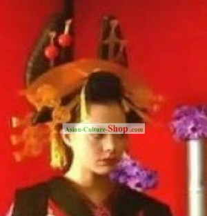 Japanese Classical Geisha Wig Set
