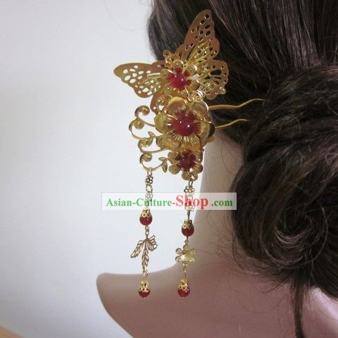 Traditional Chinese Butterfly Hairpin