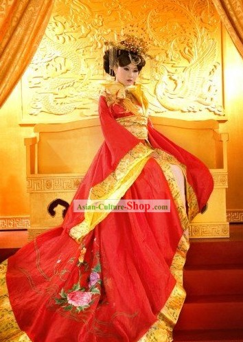 Traditional Chinese Wedding Outfit for Women