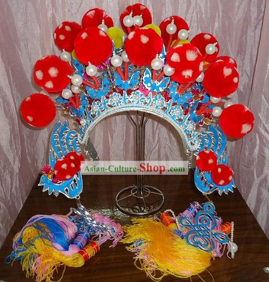 Chinese Classic Beijing Opera Hat for Women