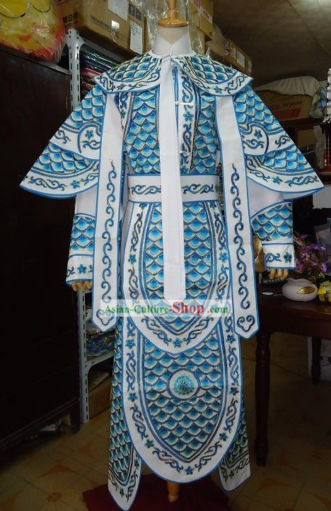 Traditional Chinese Opera General Armor Costume