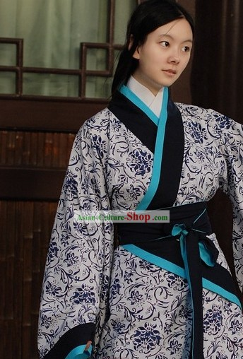 Chinese Classical National Hanfu Costumes for Women