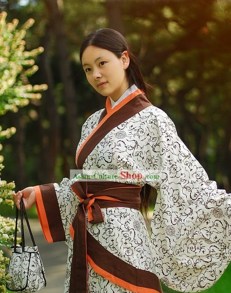 Chinese Imperial Han Empress Clothing for Women