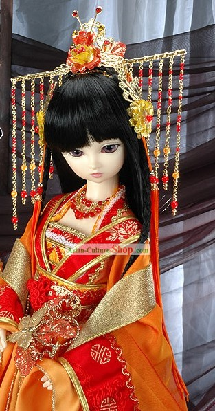 Ancient Chinese Princess Headpiece Set