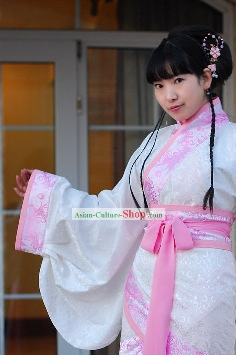 Ancient Chinese Princess Clothes Complete Set