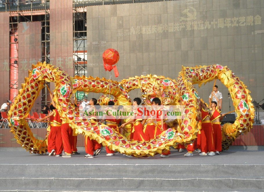 Supreme Big Event Celebration Olympic Games Opening Ceremony Dragon Dance Costume Complete Set