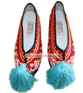 Supreme Qing Dynasty Chinese Princess Shoes