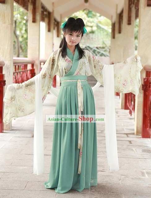 Ancient Chinese Female Costume Complete Set