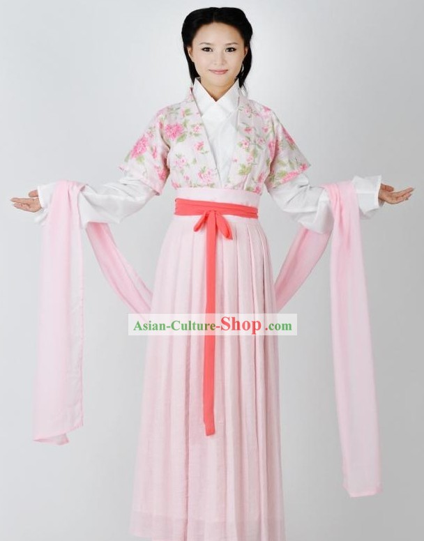 Ancient Chinese Imperial Palace Lady Clothing Complete Set