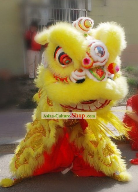 Grand Opening and Festival Parade Lion Dancing Costume Complete Set