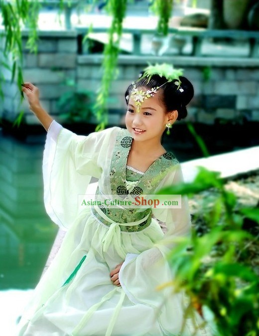 Ancient Chinese Fairy Costumes for Children