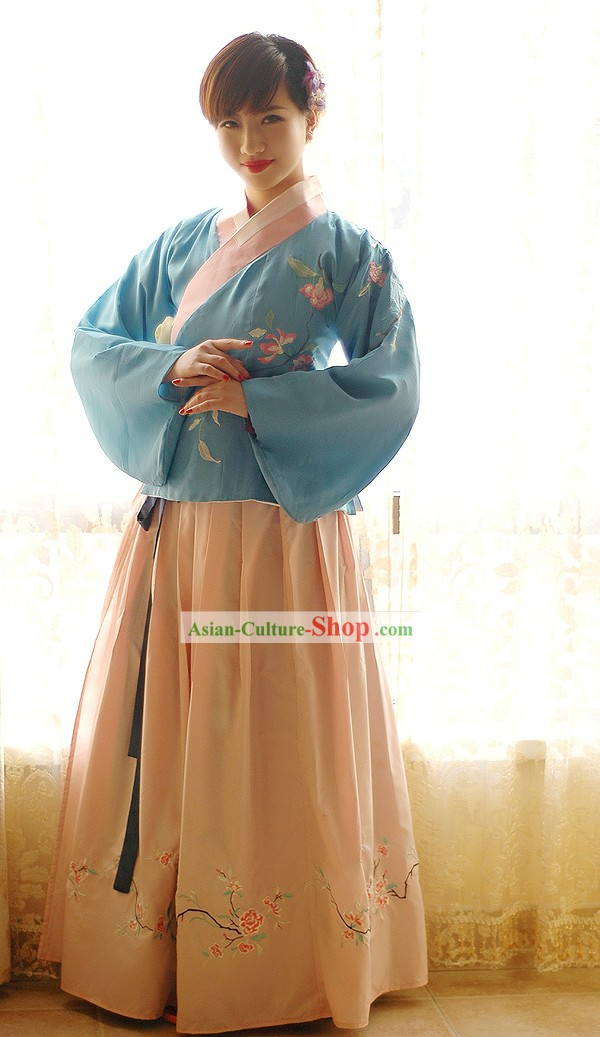 Traditional Chinese Women's Cotton Hanfu