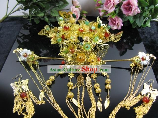 Ancient Chinese Royal Wedding Hair Accessories
