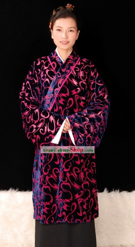 Traditional Chinese Royal Han Dynasty Clothing for Women