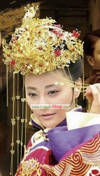 Ancient Chinese Wedding Hair Accessories Set