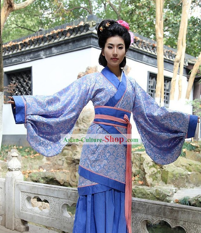 Ancient Chinese Women Han Fu/Hanfu Clothing