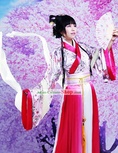Ancient Chinese Ruqun Skirt Clothing for Women