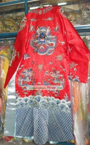 Chinese Beijing Opera Embroidered Dragon Costumes