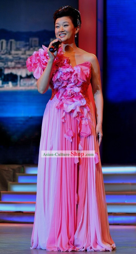 Song Zuying Chinese Singer Costumes Set