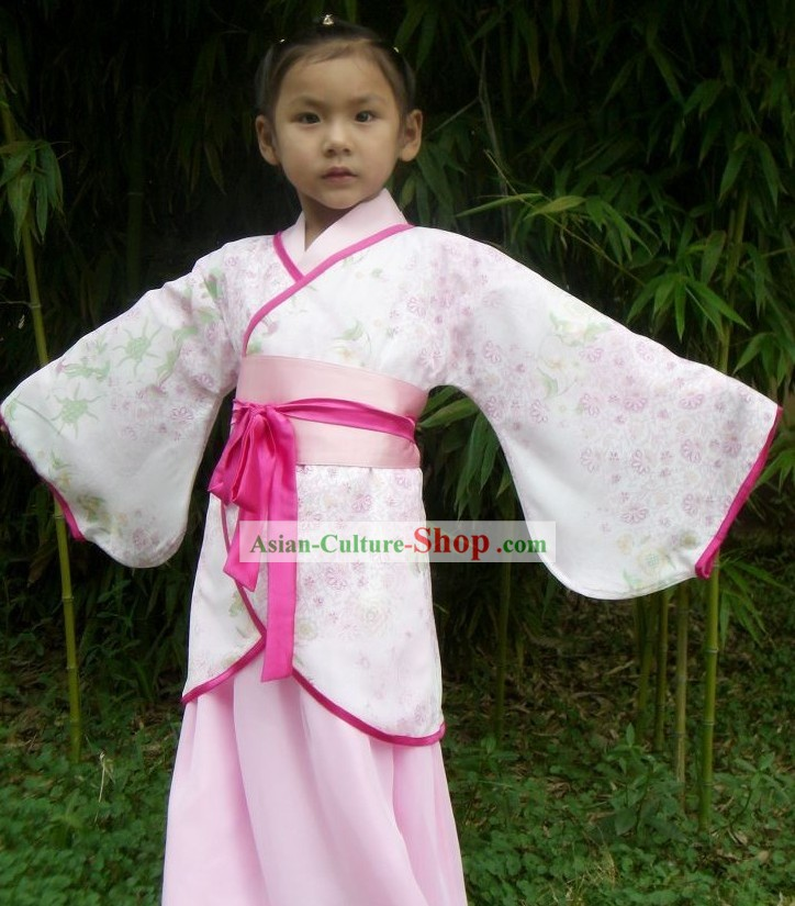 Chinese Qu Ju Hanfu for Girls