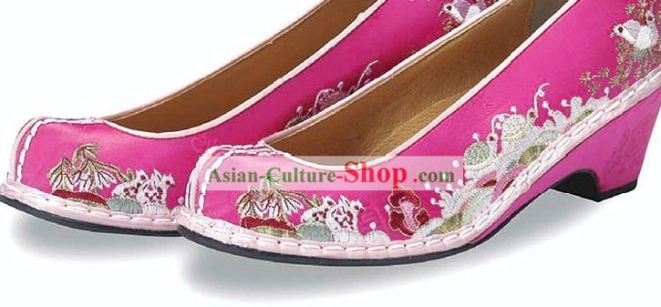 Korean Classical Embroidery Shoes for Women