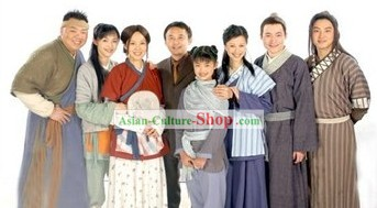 Wu Lin Wai Zhuan My Own Swordsman Drama Costumes 7 Sets