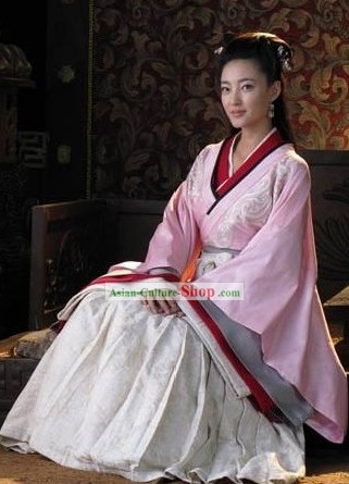 Chinese Han Dynasty Palace Hanfu Set for Women