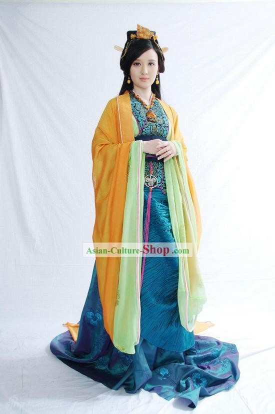 Qin Dynasty Palace Lady Costumes