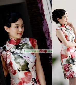 Chinese Qipao Silk Fabric