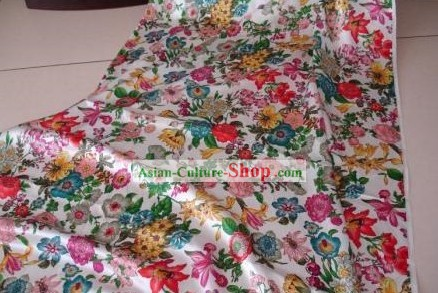 Chinese Clothes Silk Fabric