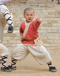Ancient Chinese Martial Arts Dress for Children