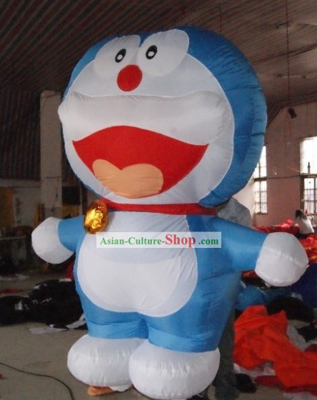 Walking Inflatable Doraemon Cartoons Costumes