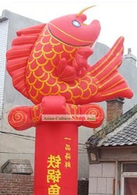Chinese Classical Inflatable Fishes