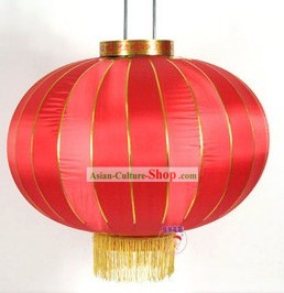Traditional Chinese Wedding Red Silk Lantern
