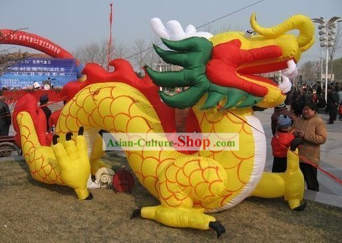 Large Chinese Inflatable Dragon