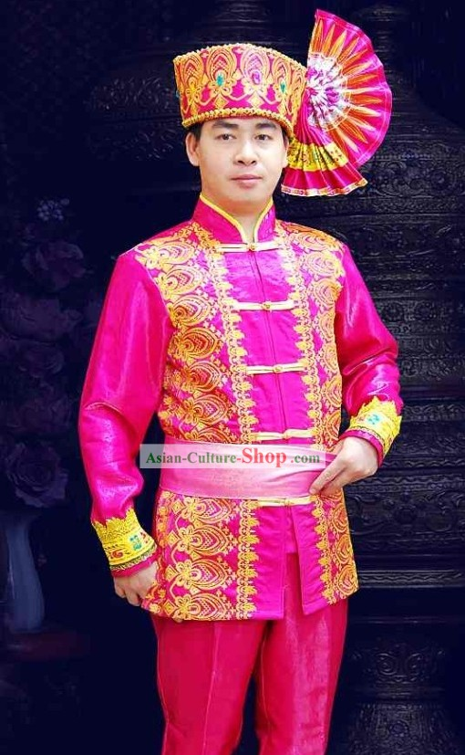 Traditional Thailand Clothing Set for Men