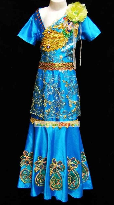 Thailand Children Dance Costumes